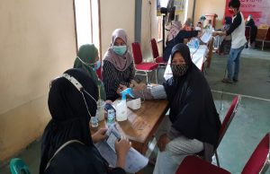 peserta vaksinasi kabupaten bekasi